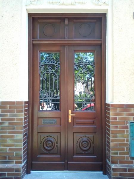 vchodové dveře masív dub
